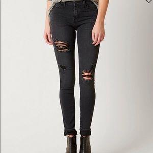 KanCan Black distressed jeans